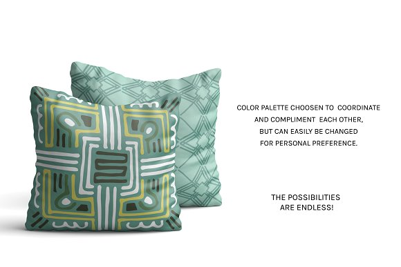 Full Modern Tile | Seamless Patterns in Patterns - product preview 9