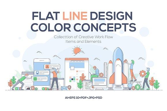 Modern Business Concept For Websites