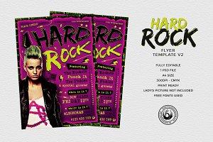 Hard Rock Flyer Template V2