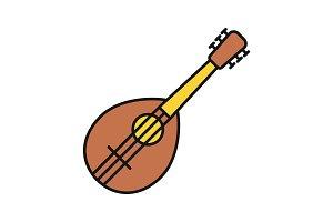 Mandolin color icon