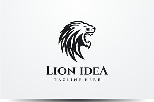 Lion Idea Logo