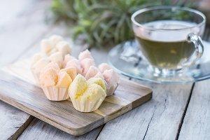 thai steamed cupcakes