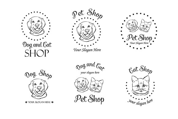 Set Of Pet Logo