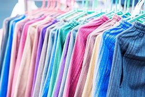 Multicolored fabric
