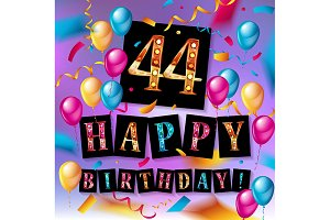 44 years anniversary