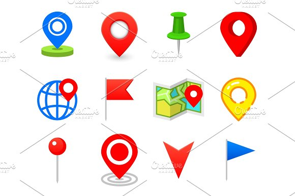 Geo Pin As Logo Geolocation And Navigation Icon For Map Mobile Or Devices Gps For Web Design Button For Infographic Elements Travel To Destination