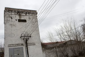 old building of transformer points
