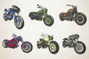 Vintage Custom Motorcicles