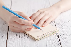 Writing memories note