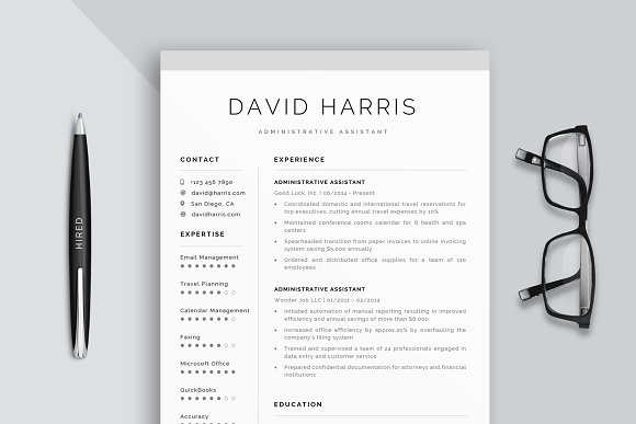 Administrative Assistant Resume.