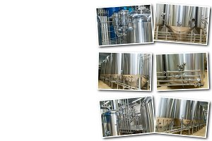 Collage equipment for beer productio