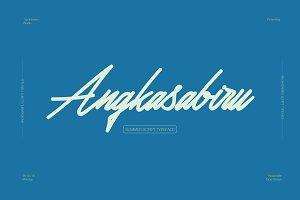 Angkasabiru script