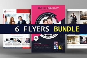 6 Business Flyer Bundle
