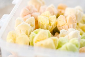 thai dessert, thai steamed cupcakes