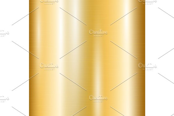 Gradient of yellow gold in Illustrations