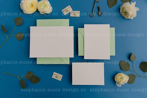 Colorful Stationery Mock Up Bundle