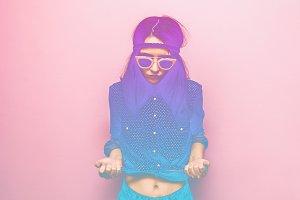 gradient girl