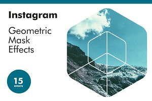 Instagram Geometric Mask Effects