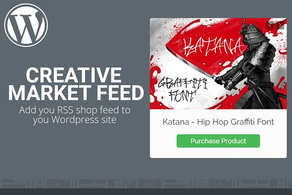 Creative Market Feed Plugin