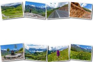 Collage travel georgia