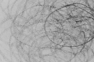 Scribble Drawing Detail Black White