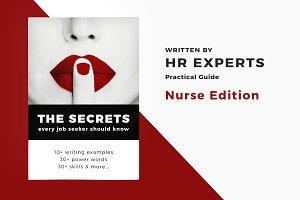 ⭐ Nurse Resume / CV + Cover Letter..
