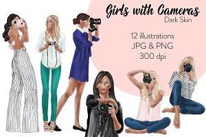Girls with Cameras - Dark Skin
