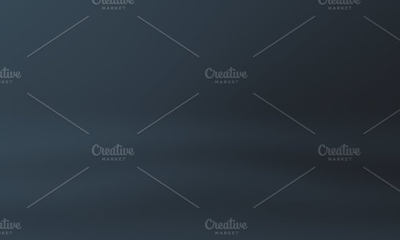Studio Background Gradient Luxury Dark Blue Horizontal Studio