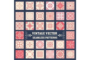 36 Seamless Patterns Background