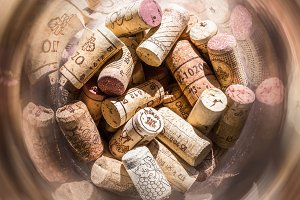 Corks and spiral