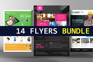 14 Multi-purpose Business Flyers