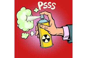 attack diversion radioactive waste gas