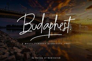 Budaphest Script Font