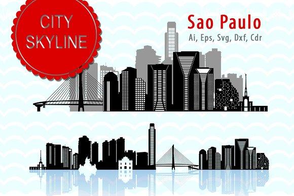 Sao Paulo Vector Skyline