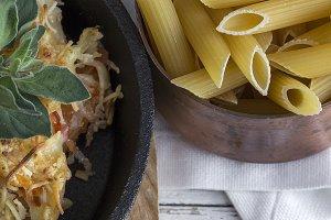 Italian pasta. Homemade