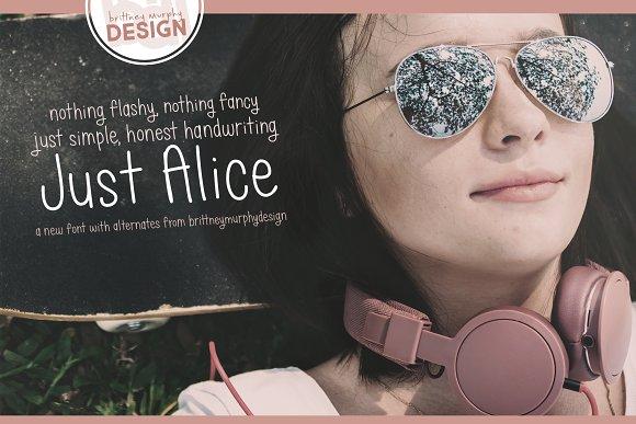 Just Alice