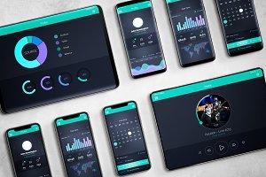 Android & iOS Mockup V.2