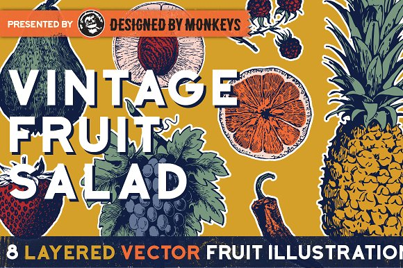 Vintage Fruit Salad