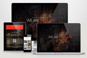 Proclaim - HTML Portfolio