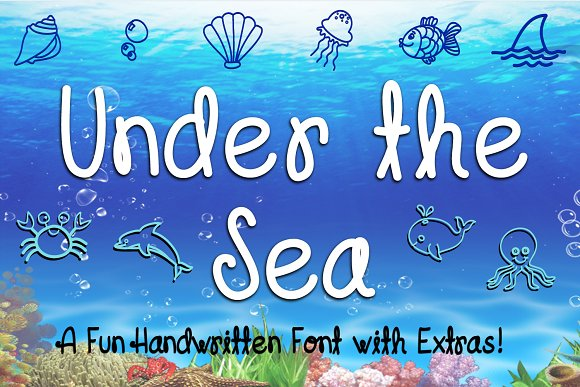 Under The Sea Font