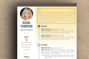 The Regina Resume Pack