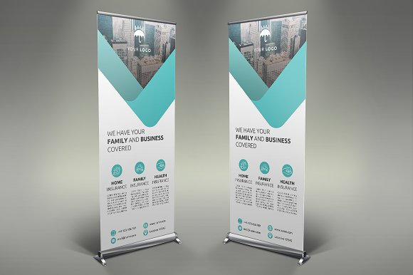 Insurance Roll Up Banner #115
