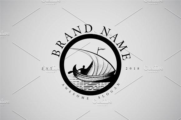 Engraved Sail Logo