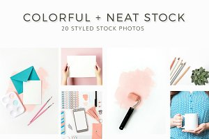 Clean, Colorful, Neat Stock Photos