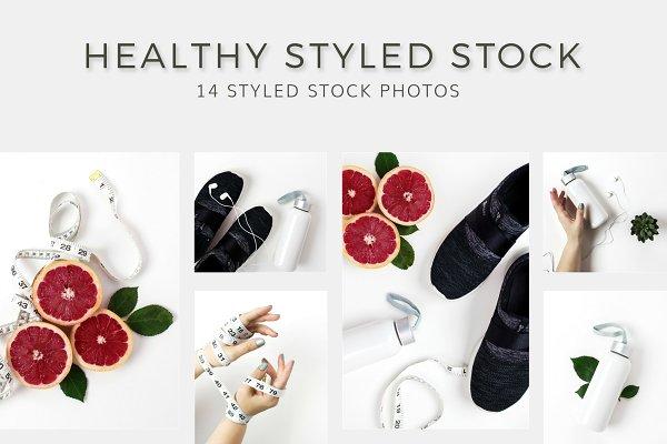 Health Styled Stock Photo Bundle