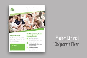Modern Minimal Corporate Flyer