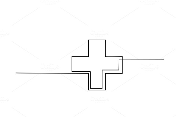 Medical Health Care Cross