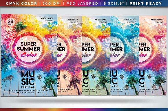 Super Summer Color Music Festival