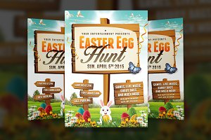Easter Egg Hunt 2 - Flyer Template