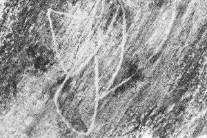 Charcoal Drawing Background Black